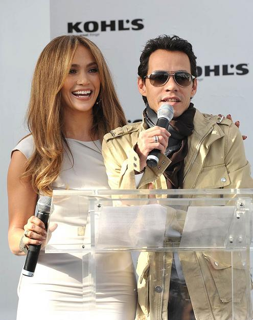 JLO and Hubby Launch Two Lines For Kohl's