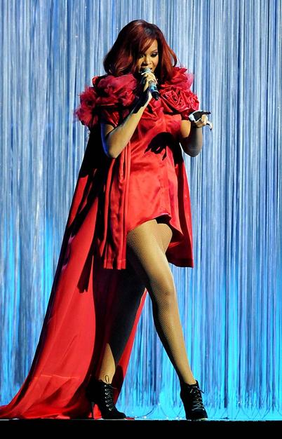 Rhianna Stuns at Brit Awards: Both Outfits Are A Hit!