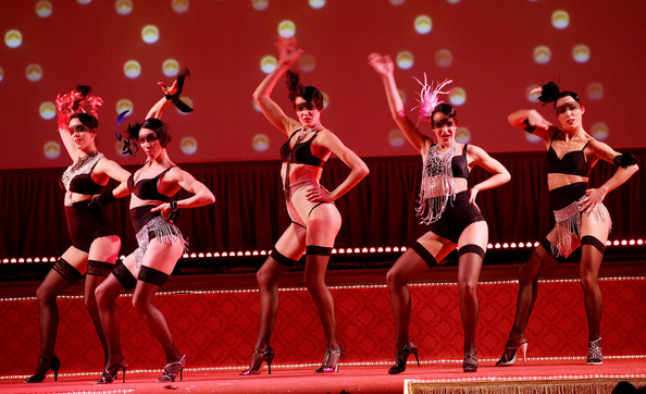 Milan// The Triumph-Coin Fashion Show Summons the Sultry Spirit of Gypsy Rose Lee (Updated)