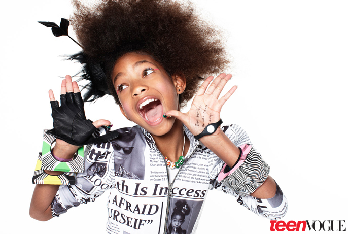 Willow Smith Rocks Teen Vogue (Pics & Video Footage from Milk Studios in L.A.)