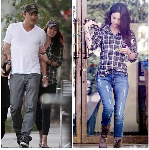 IF I Was A Boy: Rock Plaid For An Edge + More On Celeb Favorite Item:The Rails Plaid Shirt