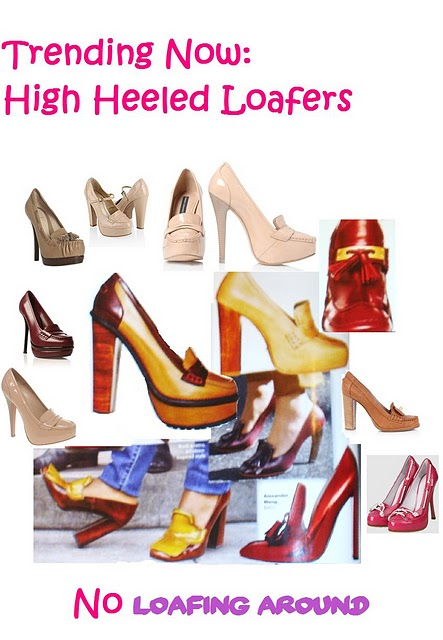 NYC's V.I.V. //Trend Alert: High Heeled Loafers
