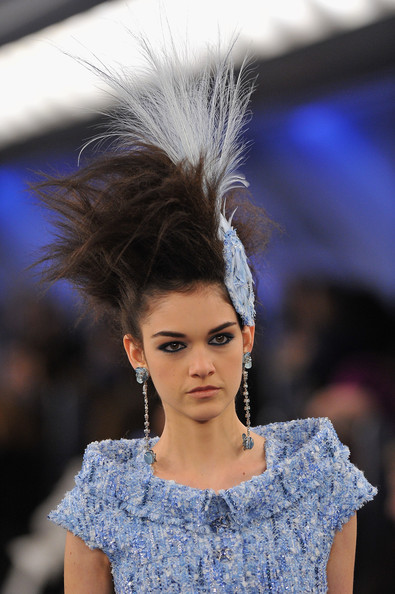 Take a Flight with Chanel S/S 2012 Haute Couture (in Paris) + Attendee Fashion: Commentary by Lisa H of Belgium
