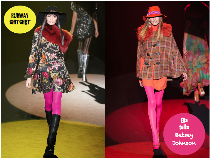 UK, Ella// Betsey Johnson Lookbook + Let's talk Betsey Johnson Collection Fall 2012