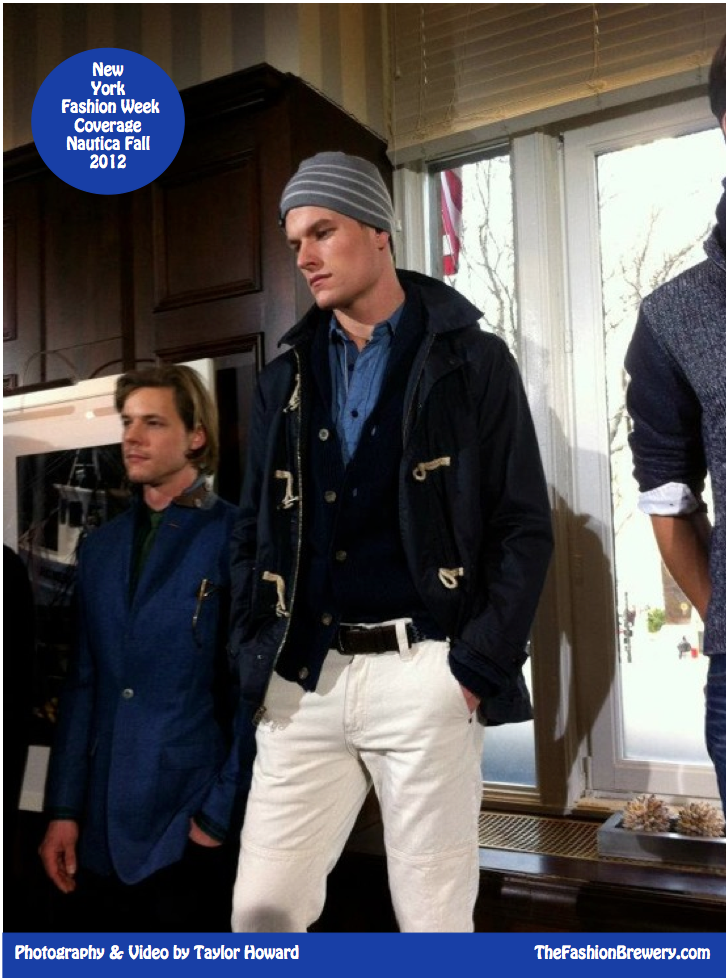 New York Fashion Week Coverage: Nautica Men's Fall 2012 Presentation