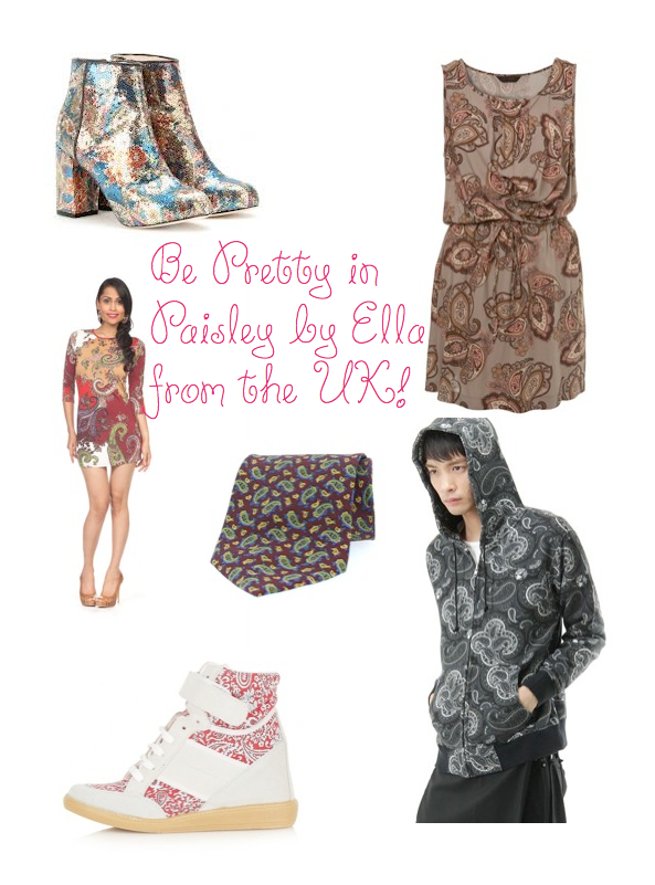 UK, Ella// Fashionista Alert: Be pretty in Paisley - Inspiration for Wardrobe + Interior Design