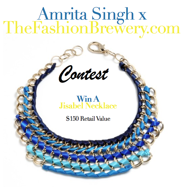 Amrita Singh Statement Necklace Contest! Enter to Win!