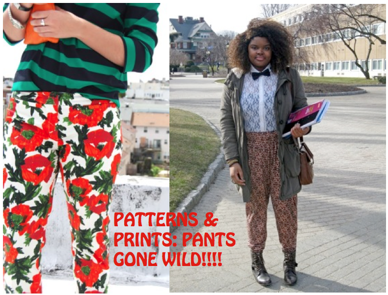 Belgium, Lisa H//People in Patterns: Bloggers Love Patterned Pants