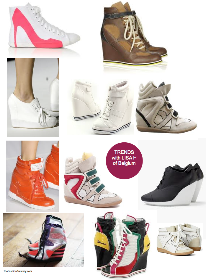 Fashion Alert// Hot Trend : Wedge Sneakers