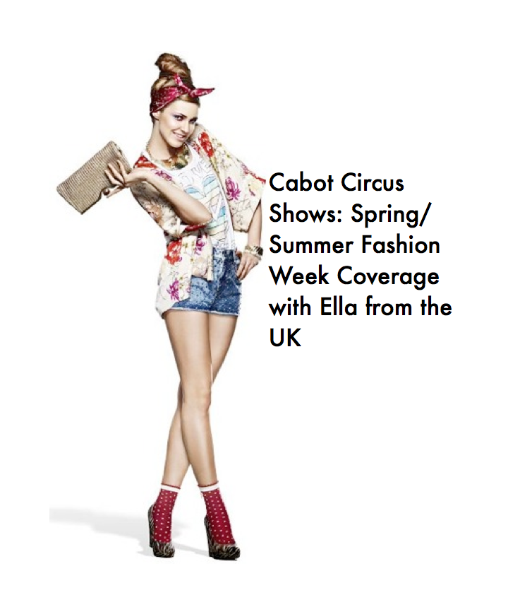 UK, Ella// Bristol Cabot Circus Spring/Summer Fashion Weekend!