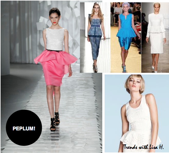 Belgium, Lisa H// Trend spotted : Crazy for Peplum