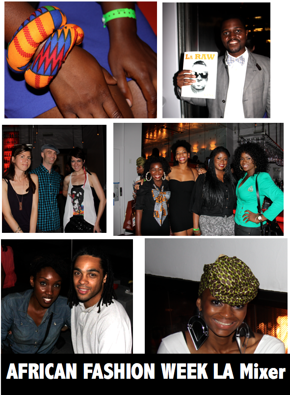 Los Angeles// Africa Fashion Week Los Angeles: Africa Is Rising Mixer (Photos & More!)