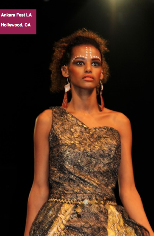 Hollywood, California: Runway Photos and Deets From Ankara Fest LA