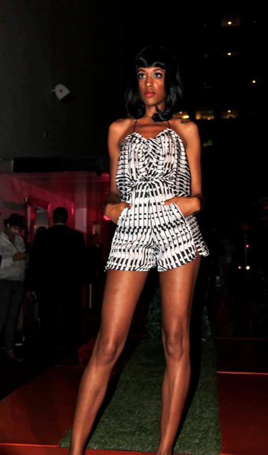 LA Fashion Week// Sabine de Brumes Runway Presentation at the Standard Downtown LA