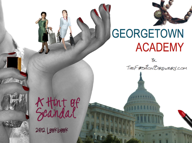 Georgetown Academy: A Hint of Scandal Lookbook (Details)