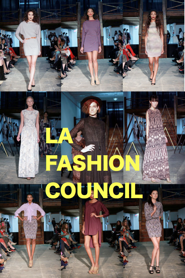 Los Angeles Fashion Council Fall 2013 Collections Day 1 & 2