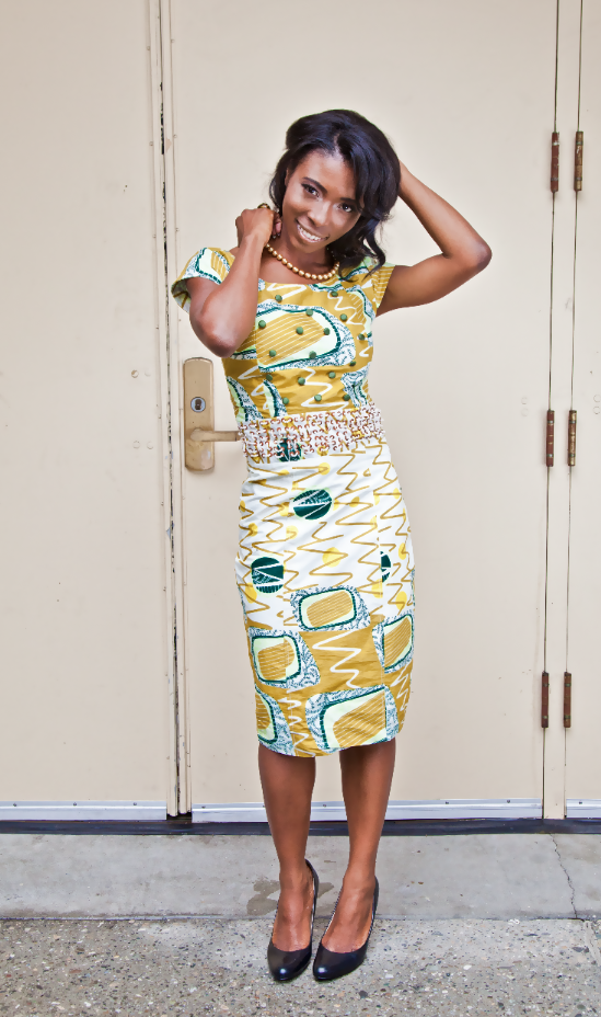 My Lookbook: Prim & Proper in Prints (Wearing Mo'co'latee)