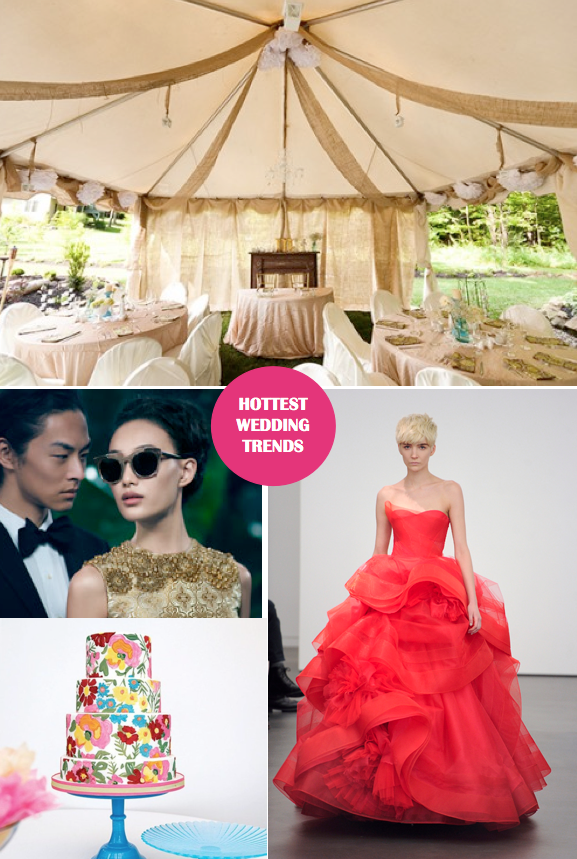 Wedding Trends with Lindsay Mansfield: The 411 on What is Hot Now!