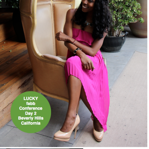 Lucky FaBB Day 2 - The Brand Experience! (Gifting Lounges, What They Wore, What I Wore & More!)
