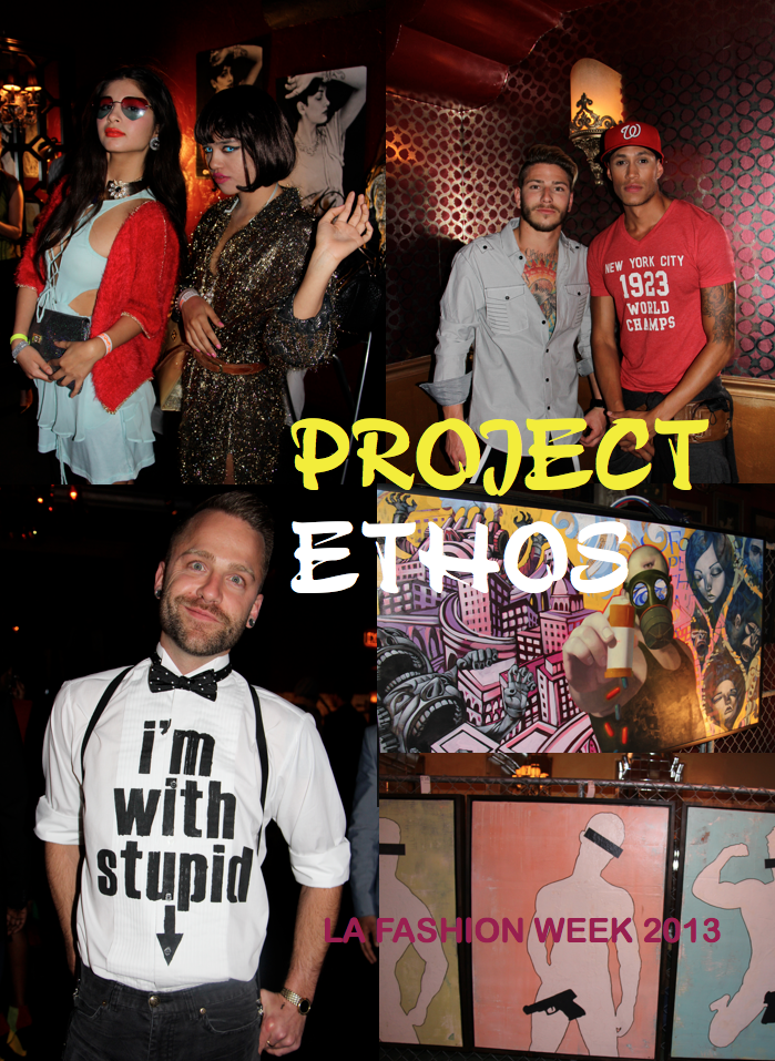 LA FASHION WEEK// Project Ethos: Seen on the Scene (Street Fashion + Artwork)