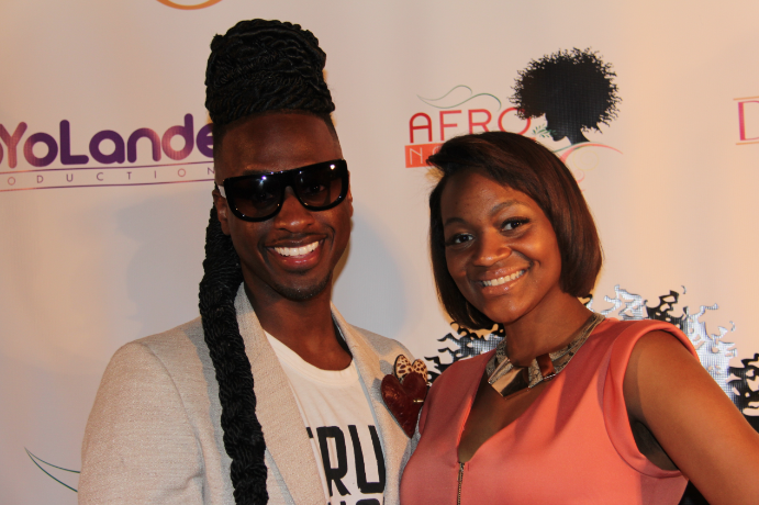 Emore J (Designer, stylist & red carpet host) and Tiffany Parker (Pageant Queen & Entrepreneur)
