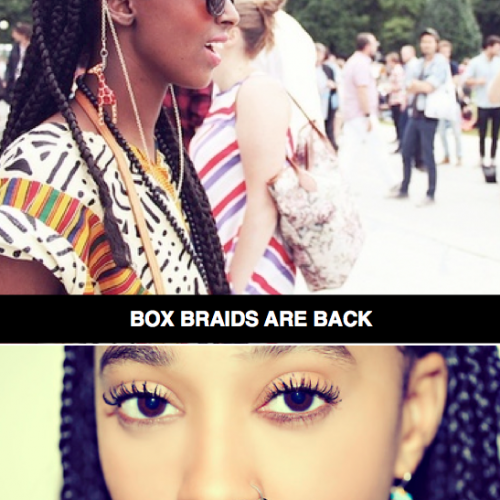 DMV, Monique J.// Box Braids are back with a Vengeance! Celebs who wear them + How to try the trend!