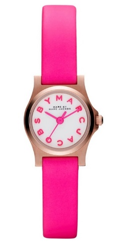 By Marc Jacobs Pink Watch