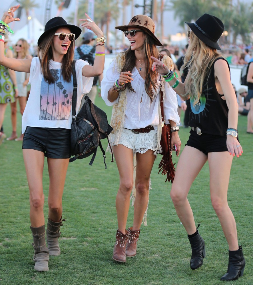 Festival Style: Miranda Kerr and friends