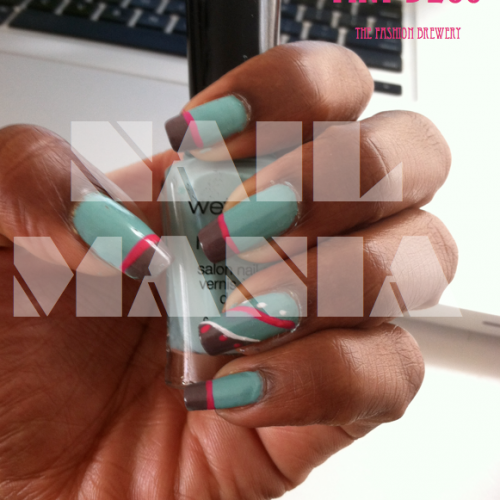 Nail that Look! Art Deco Nails