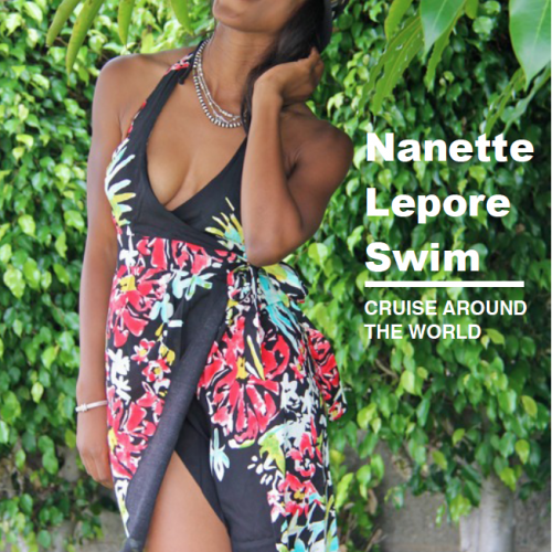 Travel Around the World with Nanette Lepore Swim + the Nanette Lepore Inspired Mani to Match!