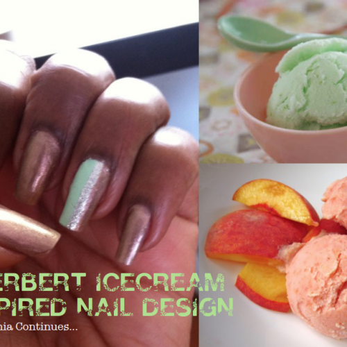 Tasty Nails: Sherbert Nails & Sherbert Ice Cream Inspired Accessories (Nail-mania)