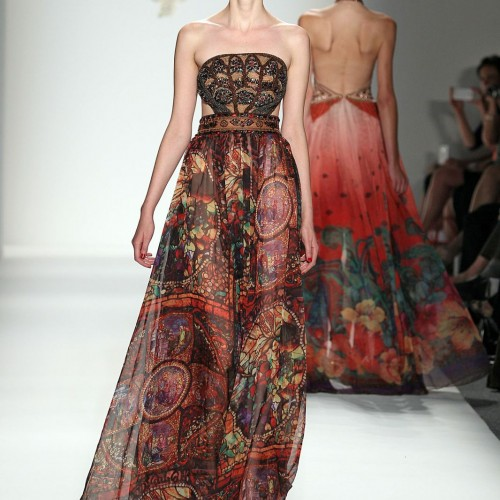 NYFW: Chinese Designers Show at Lincoln Center--- Bold Elegance!