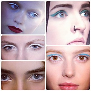 Fall 2013 Eye Trends with NYC's VLV: Inverted Cat, Invisible Shadow + Floating Eye