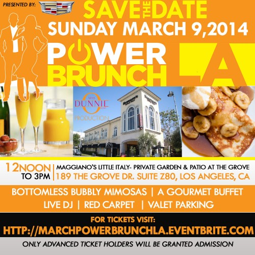 Join me at Charity Power Brunch LA this Saturday!