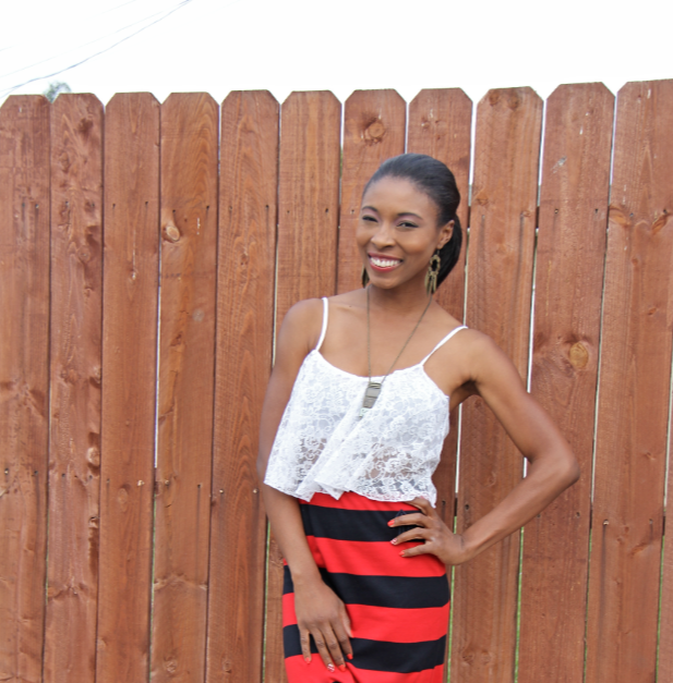 liberian model preppy nautical fashion blogger african