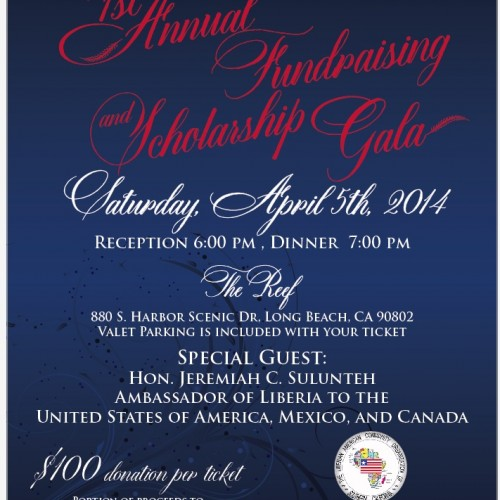 FAB for Fashion: LACOSC's 1st Annual Fundraiser and Scholarship Gala Invite