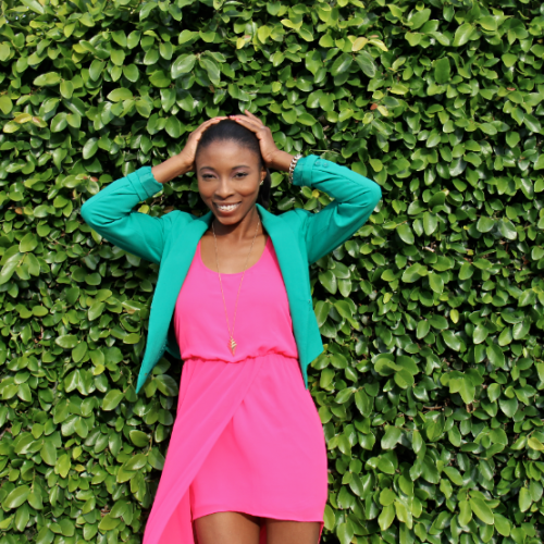 Pink & Green: Preppy Colors with A Twist