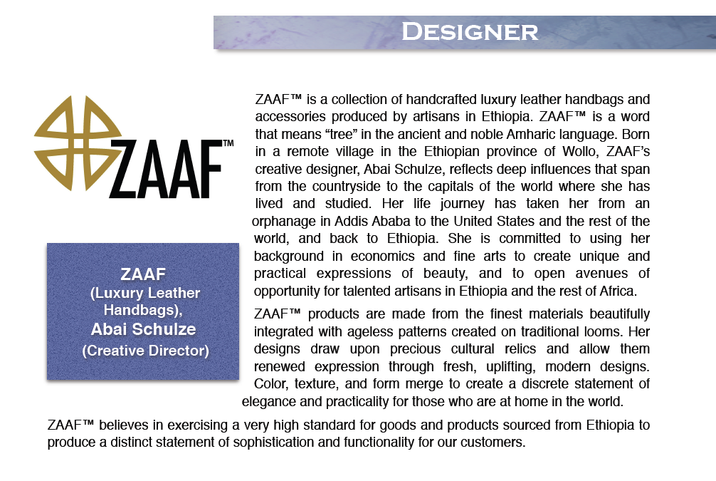 zaaf ethiopian fashion toolbox dc dc fashion